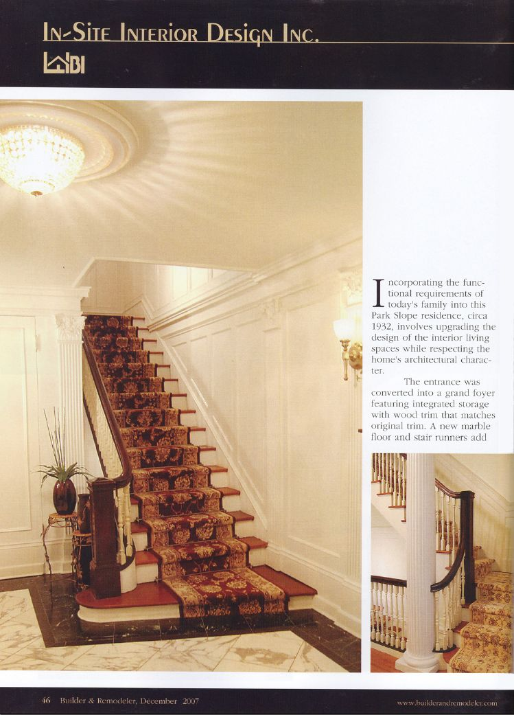 In Site Interior Design Gets A Write Up The NY Real Estate Journal