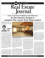 In-Site Interior Design gets a review by the NY Real Estate Journal of their condo design project, including the public spaces and residence.