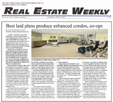 Real Estate Weekly writes about In-Site Interior Design's condo redesign project.