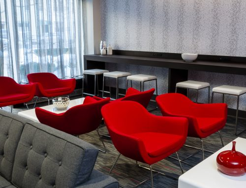 568 Union Private Lounge Design