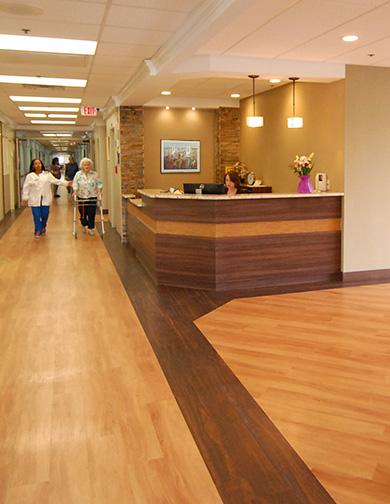 Rehabilitation & Health Care Center | In-Site Interior Design