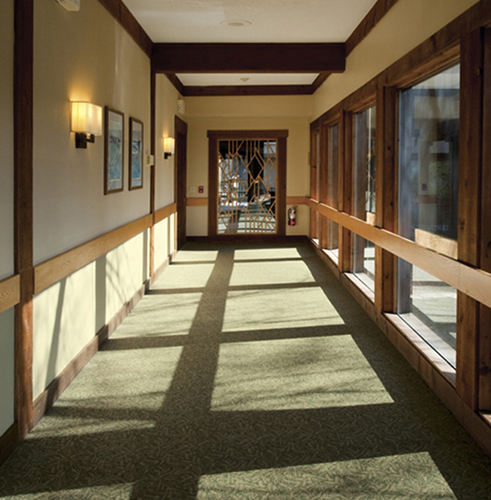Heritage hotel in site interior design for Commercial interior design nyc
