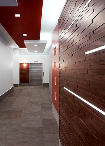 Dekalb avenue lobby in site interior design for In site interior design