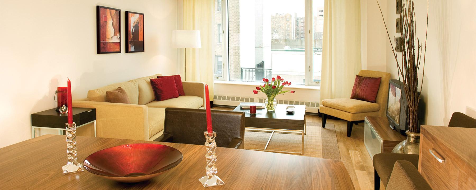 Apartment Living Area Designed By In Site Interior Design