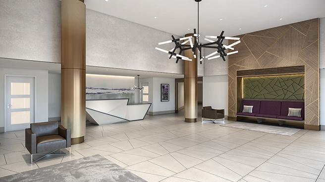 Lux Brooklyn Lobby