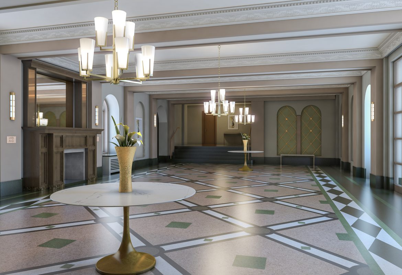 Ocean Avenue Lobby