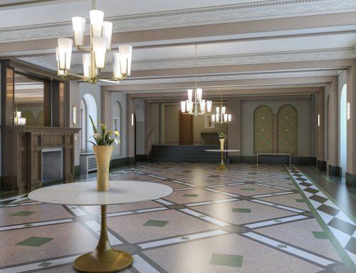 Ocean Avenue Lobby Restoration