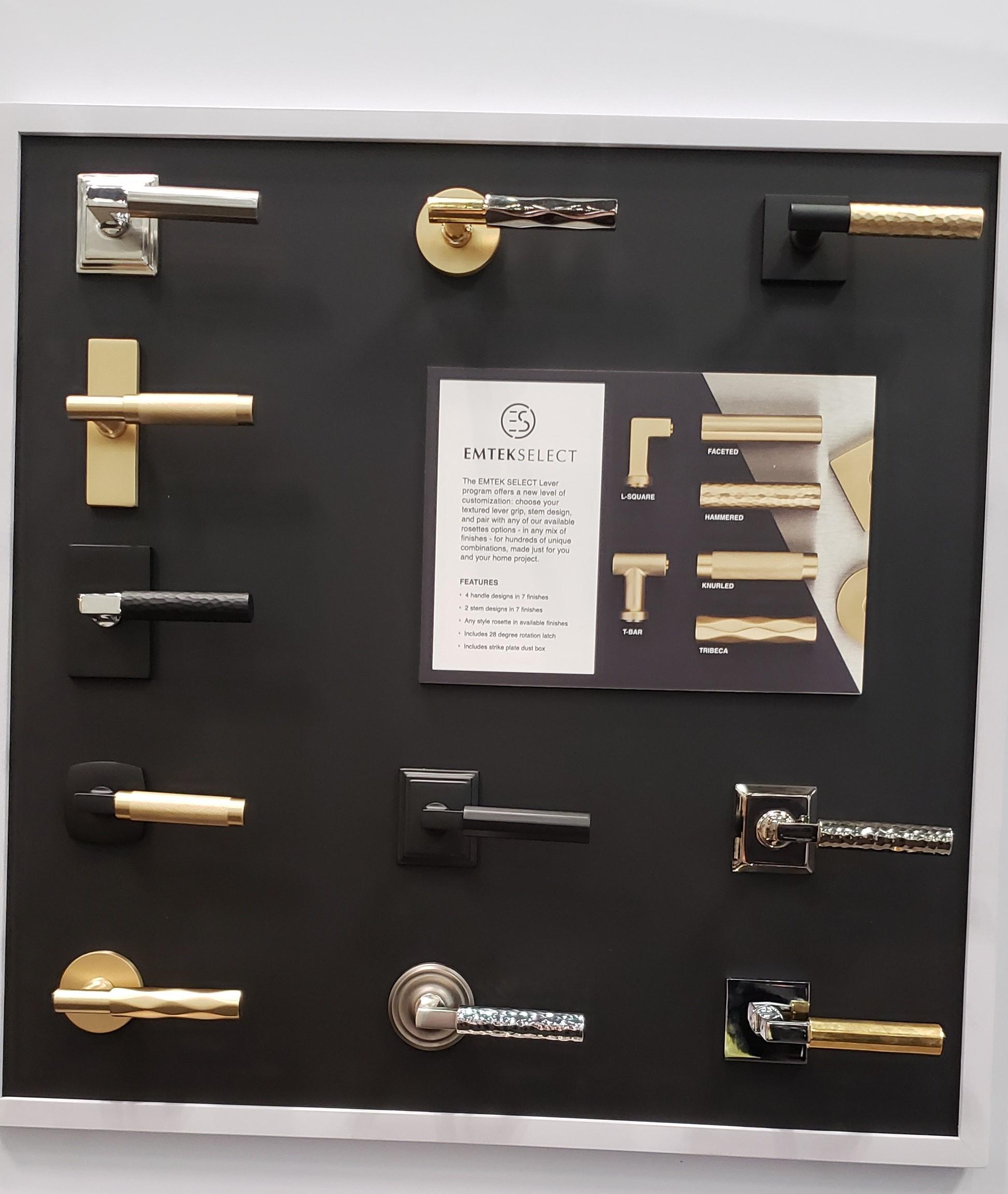 ICFF Emtec door handles
